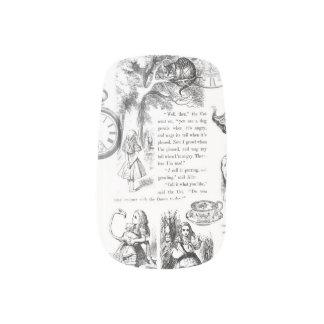 Alice im Wunderlandnagelkunst Minx Nagelkunst