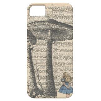 Alice im Wunderlandtelefonkasten iPhone 5 Schutzhülle