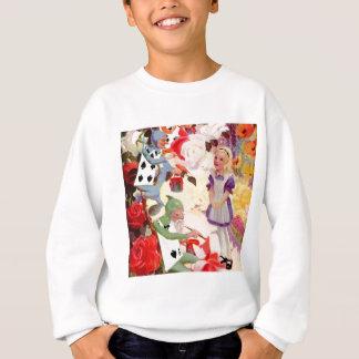 Alice passt die Cardmen Farbe die Rosen der Sweatshirt