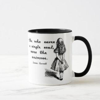 Alice rettet ein Soul Tasse