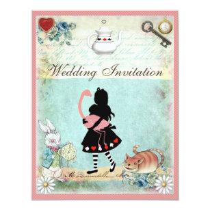 Cheshire Katzen Hochzeit Einladung