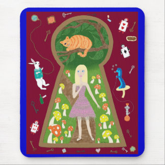 Alice (série de mode de conte de fées #4) tapis de souris