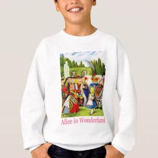Alice trifft die Königin der Herzen im Märchenland Sweatshirt