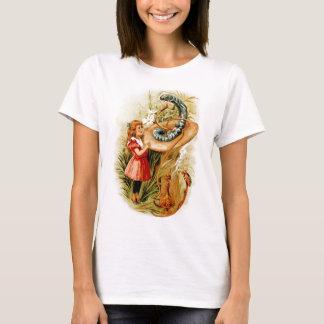 Alice und das Raupen-Damen-Baby - Puppe T-Shirt