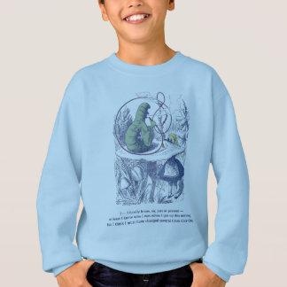 Alice und das Sweatshirt des Raupen-Kindes