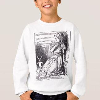 Alice und das weiße Kaninchen Sweatshirt