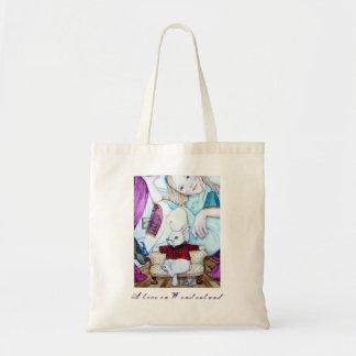 Alice und das weiße Kaninchen Tragetasche