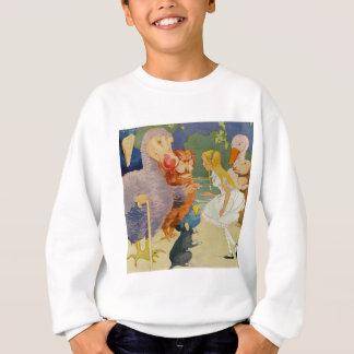 Alice und der Dodo-Vogel am Ausschuss für Sweatshirt
