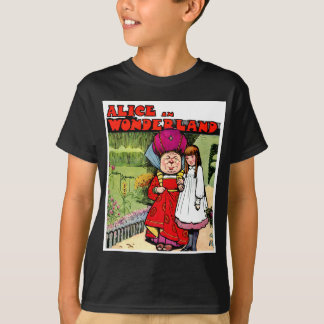 Alice und die Herzogin im Märchenland T-Shirt