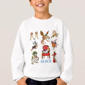 Alice und Freunde im Märchenland Sweatshirt