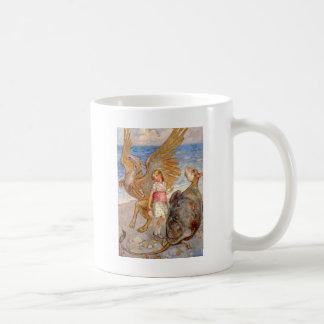 ALICE UNTERHÄLT SICH MIT DER SCHEINschildkröte UND Kaffeetasse