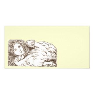 Alice wächst durch Lewis Carroll Karte