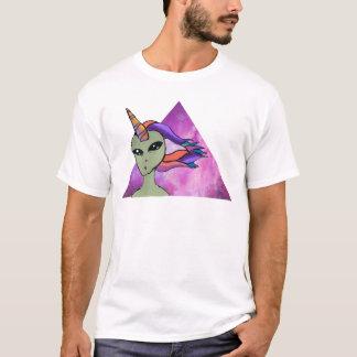 Alien Einhorn T-Shirt