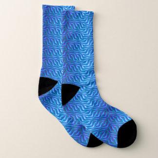 Alien-Haut-Muster Socken