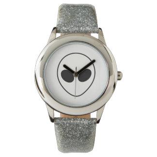 Alien Head Armbanduhr
