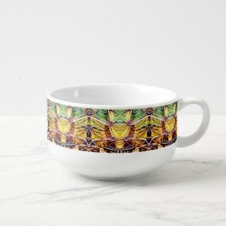 Alien-Kaktus-kundenspezifische Suppen-Tasse Große Suppentasse