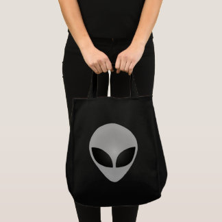 Alien-Kopf Tragetasche