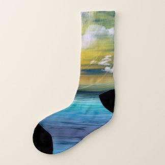 Alien-Sonnenaufgang Socken
