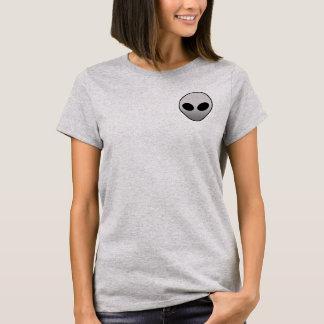 Alien-Taschen-T-Stück T-Shirt