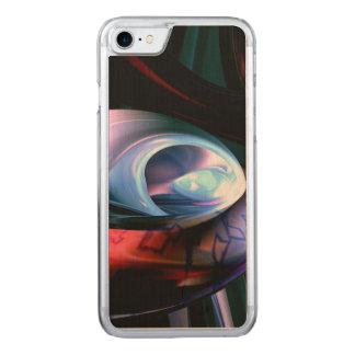 Alien-Welten abstrakt Carved iPhone 8/7 Hülle
