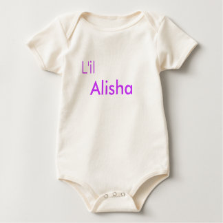 Alisha Baby Strampler