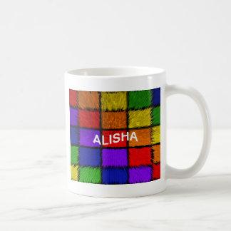 ALISHA (weibliche Namen) Kaffeetasse