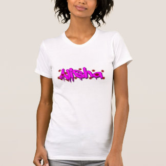 Alisha weißer T - Shirt, Medium T-Shirt