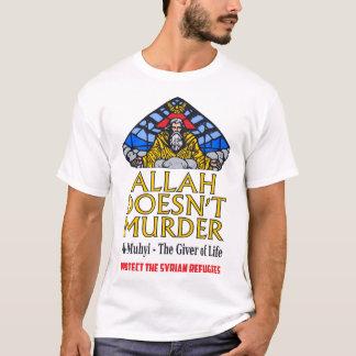 Allah ermordet nicht - schützen Sie syrische T-Shirt