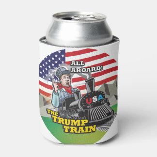 ALLE AN BORD DES TRUMPF-ZUGS!!! USA-Nationalismus Dosenkühler