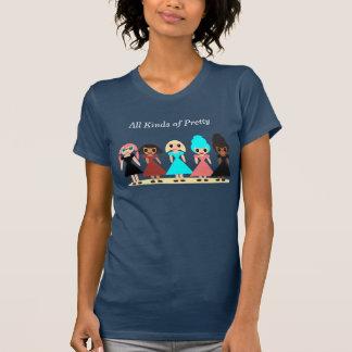 Alle Arten von hübschem T-Shirt