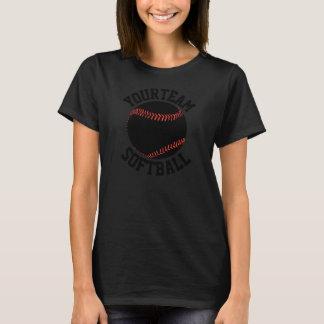 ALLE der Frauen SCHWÄRZEN kundenspezifischen T-Shirt