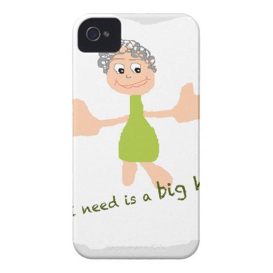 Alle, die ich benötige, ist eine große Umarmung - Case-Mate iPhone 4 Hülle