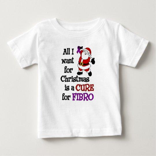 Alle, die ich für das Faser Weihnachten… will Baby T-shirt
