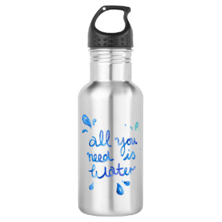 Alle, die Sie benötigen, ist Edelstahlflasche