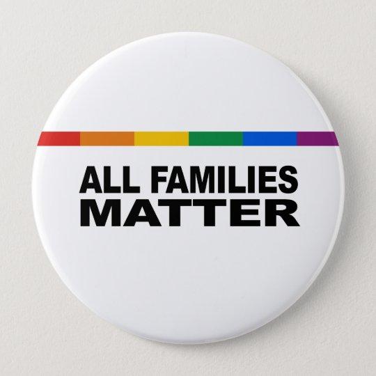 Alle Familienangelegenheit Runder Button 10,2 Cm