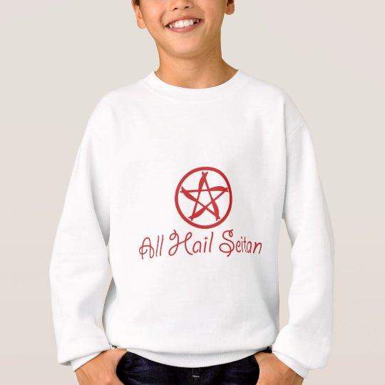 Alle hageln Seitan - lustigen unglaublich witzig Sweatshirt
