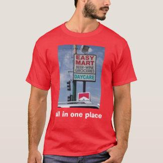 alle in einem Platz T-Shirt