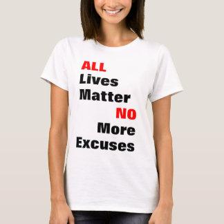 """""""Alle Leben-Angelegenheits-"""" Licht-Shirts T-Shirt"""