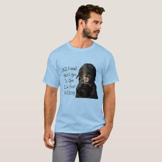 Alle Nahrung muss zum Labrador für prüfent-stück T-Shirt