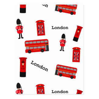 Alle Sachen London Postkarte