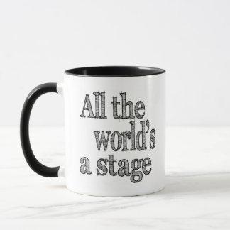 Alle Welten eine Bühne Tasse