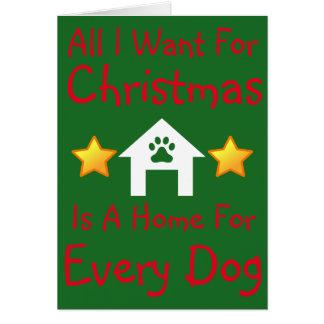 """""""Alle will ich"""" Weihnachtskarte Karte"""
