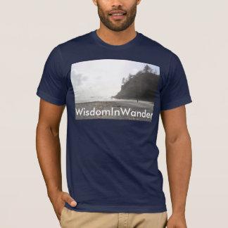 Alleiner wandernder T - Shirt