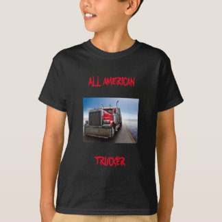 Aller amerikanische Fernlastfahrer T-Shirt