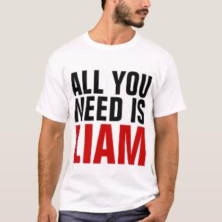 Aller, den Sie benötigen, ist Liam T-Shirt