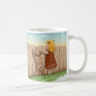 Aller, den Sie benötigen, ist Liebe… und ein Hund Kaffeetasse
