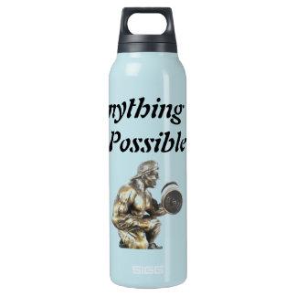 Aller des möglichen Bodybuilders Isolierte Flasche