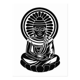 Aller ein Buddha Postkarte