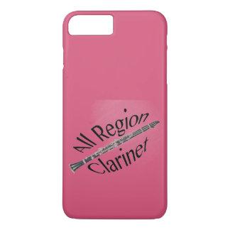 Aller REGIONS-Clarinet-Spieler Iphone Ipad iPhone 8 Plus/7 Plus Hülle