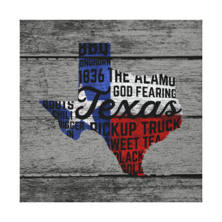 Aller Sache-Texas-Leinwand-Druck Leinwanddruck
